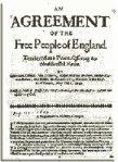 Agreement of the People, tärkeä Leveller liikkeen asiakirja, joka vaati demokraattista perustuslakia Englantiin.