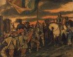 Charles I nostaa viiriään Nottinghamissa elokuussa 1642, Englannin vallankumouksen virallisessa alussa (sekä monella tapaa myös vallankumouksellisen kauden alussa).