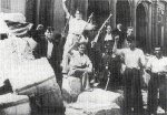Juhlivia työläisiä 1936
