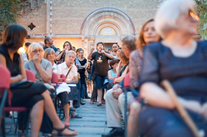 Kommunalt möte i Barcelona